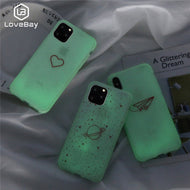 Funda Luminosa Silicona Compatible con Iphone