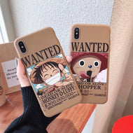Funda de Anime Wanted Compatible con Iphone