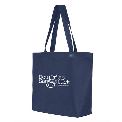 Douglas/Saugatuck Stronger Together Canvas Tote