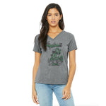 Michigan Off Road Ladies Relaxed Fit V-Neck T-Shirt