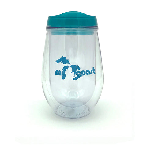 Mi Coast Acrylic Wine Glass