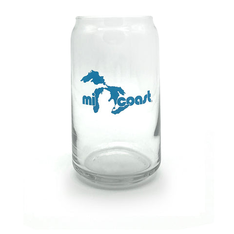 Mi Coast Beer Can Glass