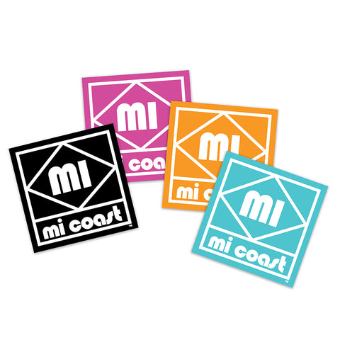 Mi Coast Diamond Sticker