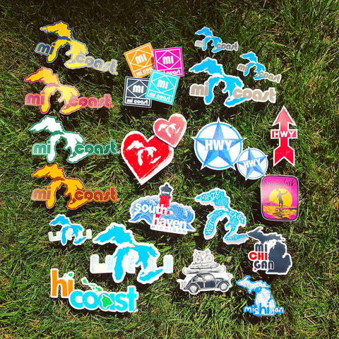 50% off Mi Coast Complete Sticker Collection