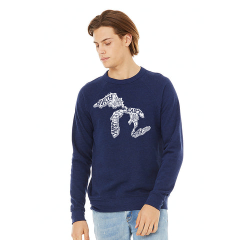 Most Coast Crew Neck Sweatshirt
