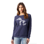 Most Coast Ladies Vintage French Terry Sweatshirt