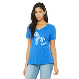 Most Coast Ladies Relaxed Fit V-Neck T-Shirt