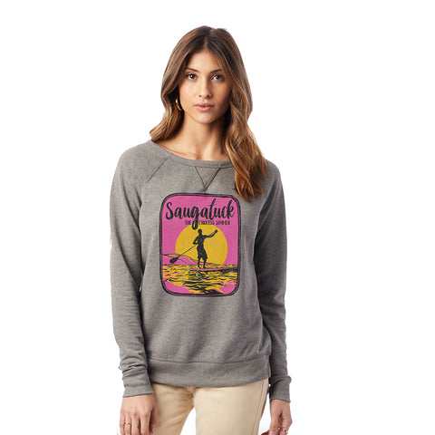 Saugatuck Ladies Vintage French Terry Sweatshirt