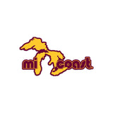 Mi Coast University Gear Sticker