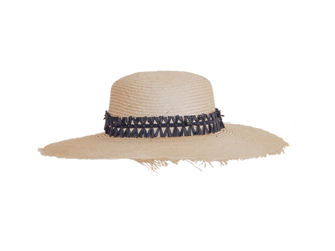 Womens natural straw sun hat, small, medium, large or extra large head sizes, black raffia headband