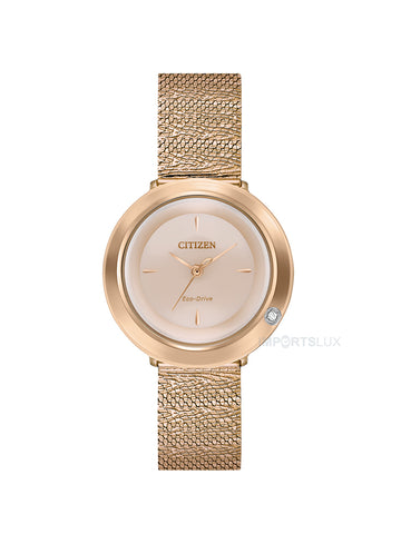 Citizen Eco Drive Ladies Ambiluna Rose EM0643-50X