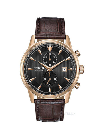 Citizen Eco Drive Chronograph Rose Ca7003-06e