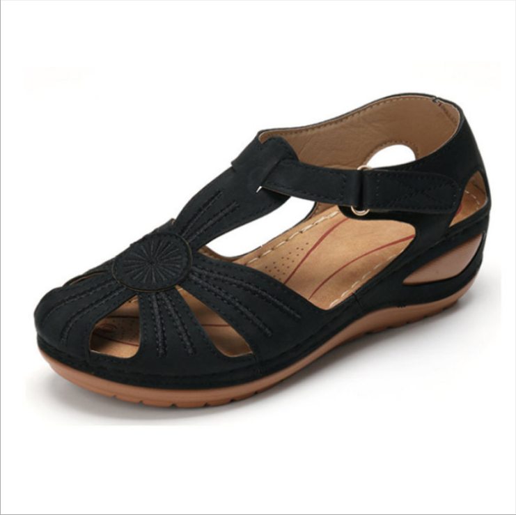 Summer beach shoes non-slip hollow open toe sandals