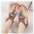 Beaded flat beach sandals-2020 new ethnic sandals