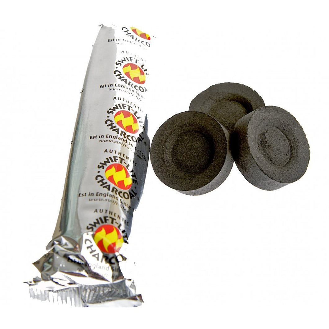 Charcoal discs (roll of 10)