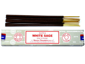 Satya White sage incense sticks 15g