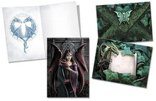 Load image into Gallery viewer, Greeting card - Soul mates dragon