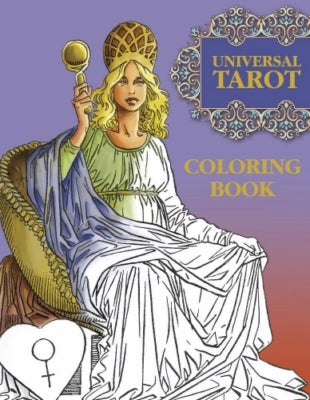 Colouring book - The universal tarot coloring book