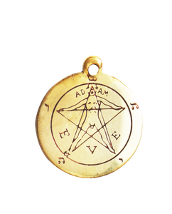 Star charm - Pentacle of eden - magickal amulet