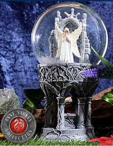 Only Love Remains Snowglobe 18.5cm