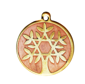 Star charm - tree of life magickal amulet