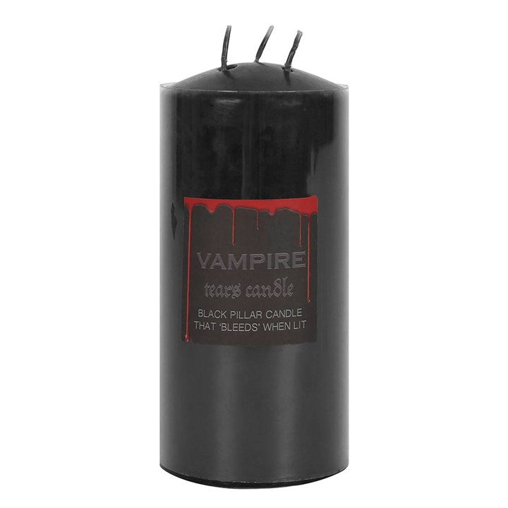 Vampire Tears Pillar Candle 15cm