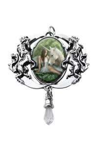 Cameo choker - Pure heart unicorn Anne stokes