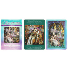 Load image into Gallery viewer, Fairy Tarot card set (with book)