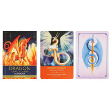 Load image into Gallery viewer, Dragon Oracle cards - Diana Cooper