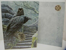 Load image into Gallery viewer, Greeting card - Watchmen raven Lisa Parker