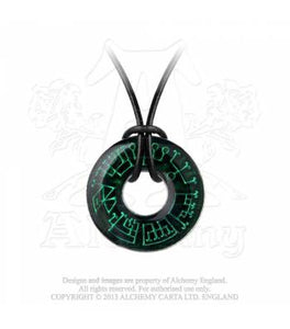 Angel ring pendant - Alchemy Gothic