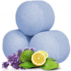 mini bath bombs (4) lavender & bergamot