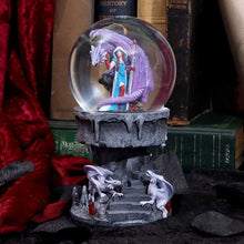 Load image into Gallery viewer, Dragon mage Snowglobe - Anne Stokes