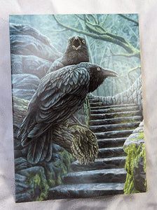 Greeting card - Watchmen raven Lisa Parker