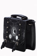 Load image into Gallery viewer, Cosmic moon - small satchel bag
