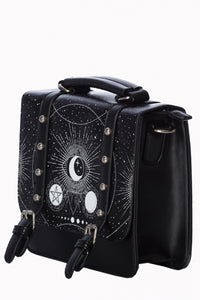 Cosmic moon - small satchel bag