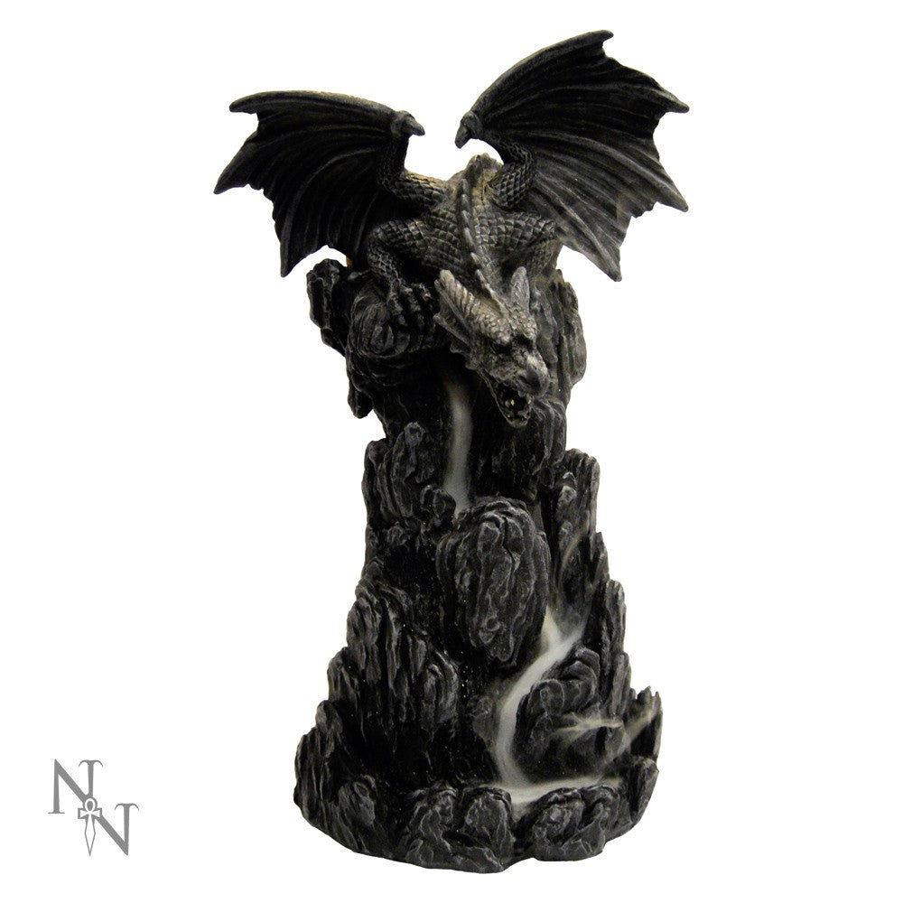 Dragon backflow incense burner 20cm