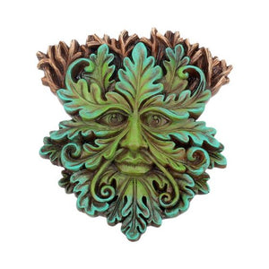 Tree Spirit Wall Plaque Oak King 15cm