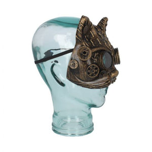 Kinetic kitten steampunk mask