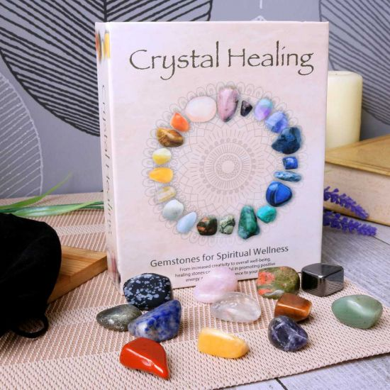 Crystal healing boxed set of 12 stones