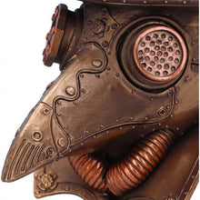 Load image into Gallery viewer, 'Beaky' Plague doctor bust figurine 23cm