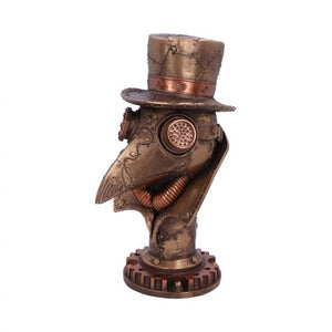 'Beaky' Plague doctor bust figurine 23cm