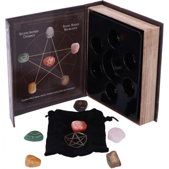 Salem's spell kit, box set of 6 witchstones