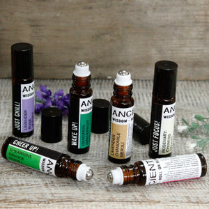 Aromatherapy roll on blends