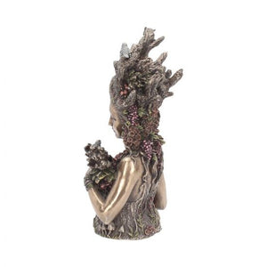 Gaia bust - mother earth 26cm