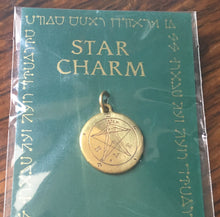 Load image into Gallery viewer, Star charm - Pentacle of eden - magickal amulet