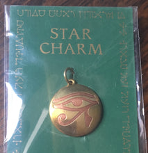 Load image into Gallery viewer, Star charm - Eye of Horus - Magickal amulet