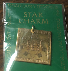 Star charm - Dr Dee's table magickal amulet