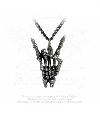 Maloik (sign of the horns) necklace - Alchemy Gothic