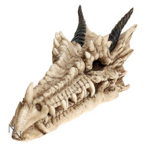 Draco skull incense stick holder 24cm